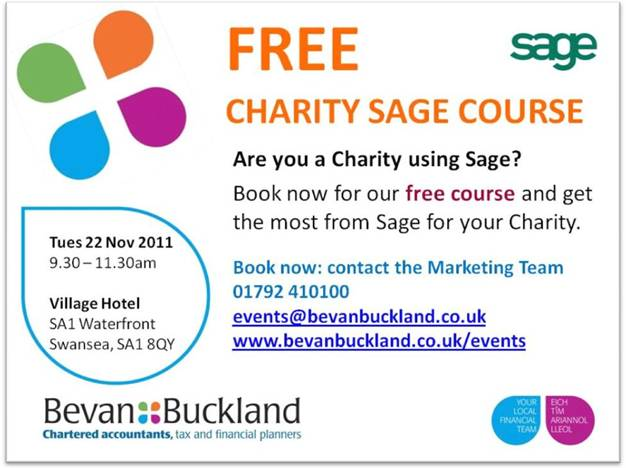 Are you a charity using Sage?