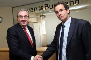 Bevan Buckland welcomes Paul Arnold